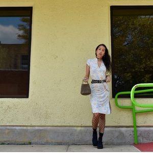 Vintage Dresses - FINALSALE🍒90'sVtg DEADSTOCK Cherryblossom Dress